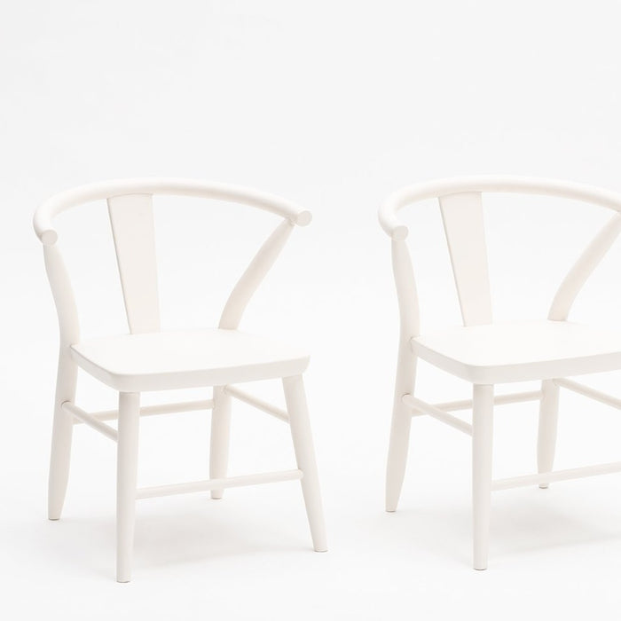 Milton and Goose Wooden Crescent Chairs on Design Life Kids