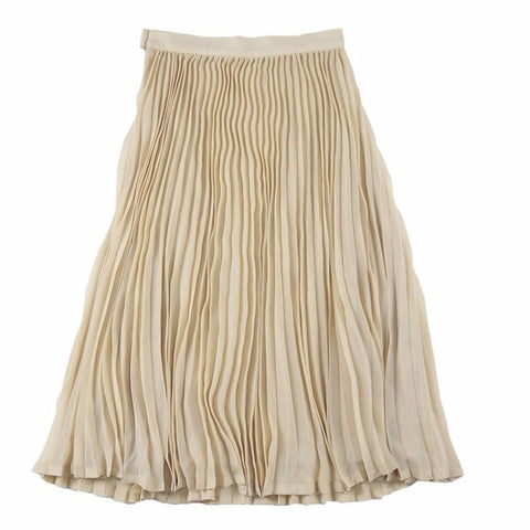 Feather Drum Ava Pleated Max Skirt on DLK | designlifekids.com