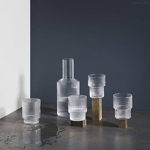 Ferm Living Ripple Carafe on DLK | designlifekids.com