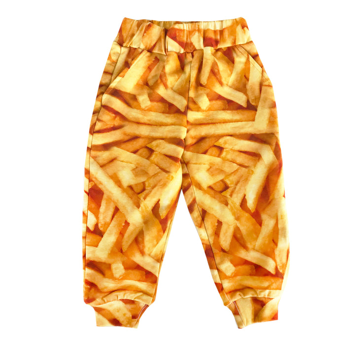 Romey Loves Lulu Fries Sweatpants on DLK | designlifekids.com