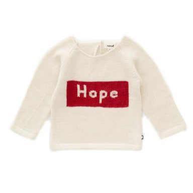 Oeuf Hope Knit Sweater on Design Life Kids
