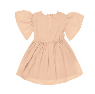 Flare Ruffle Sleeve Dress on Design Life Kids