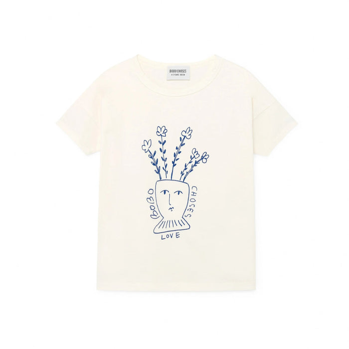 Bobo Choses Flowers T-Shirt at Design Life Kids