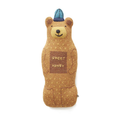Oeuf Honey Bear Pillow on Design Life Kids