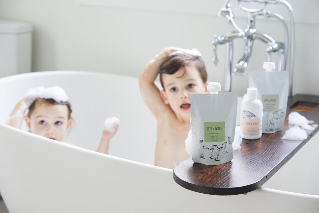 Gryph and IvyRose Natural Bath Products for Kids on Design Life Kids