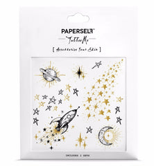 Paperself Temporary Galaxy Tattoos on DLK
