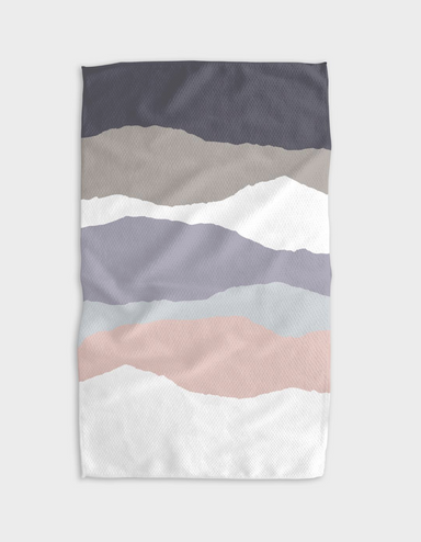 Geometry Winter Layers Tea Towel on Design Life Kids