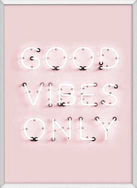 Petek Design Good Vibes Poster on DLK | designlifekids.com