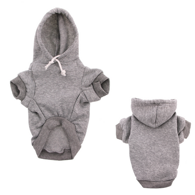 Grey Dog Hoodie on Design Life Kids