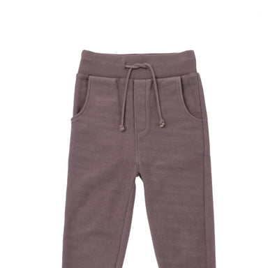 Slim fit Textured Terry Sweatpants on Design Life Kids