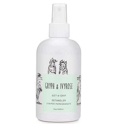 Gryph and IvyRose Get A Grip Kids Natural Detangler on Design Life Kids