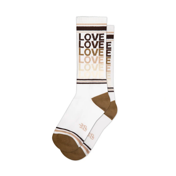 Gumball Poodle Equality Love Socks on Design Life Kids