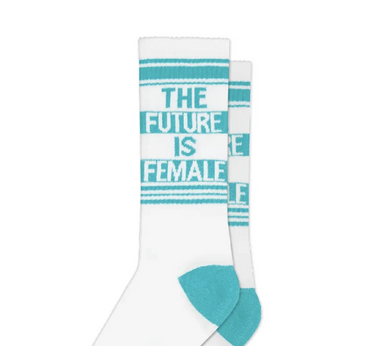 Gumball Poodle The Future Is Female Socks on Design Life Kids