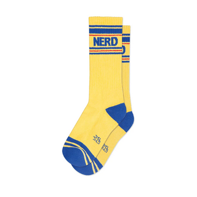 Gumball Poodle Nerd Socks on Design Life Kids
