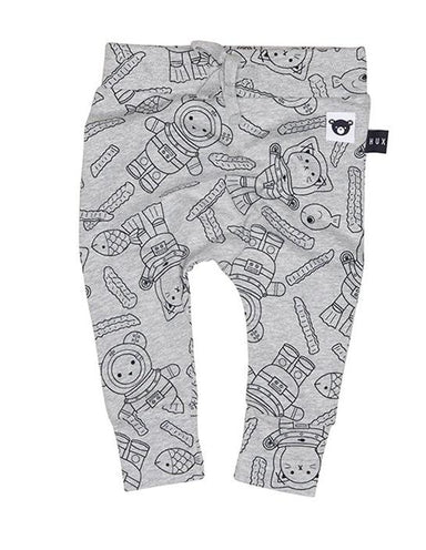 Huxbaby Chip Diver Drop Crotch Pant on DLK | designlifekids.com