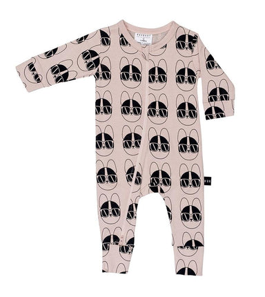 Huxbaby French Shades Zip Romper on DLK | designlifekids.com