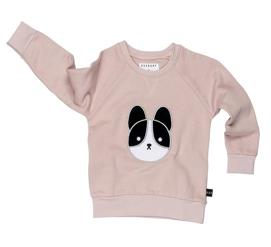 Huxbaby Frenchie Patch Sweatshirt on DLK | designlifekids.com
