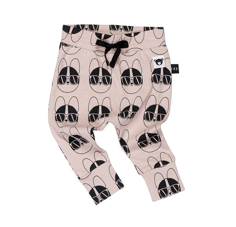 Huxbaby French Shades Drop Crotch Pant on DLK | designlifekids.com