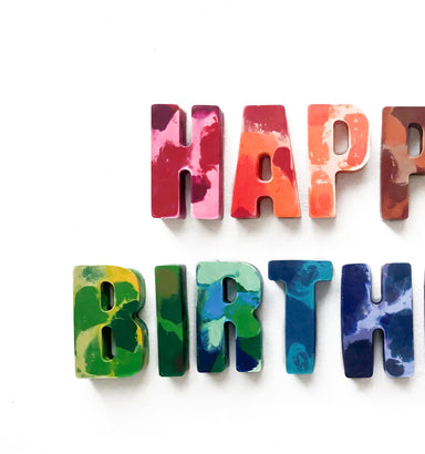 Whimsicolor Happy Birthday Crayons on Design Life Kids
