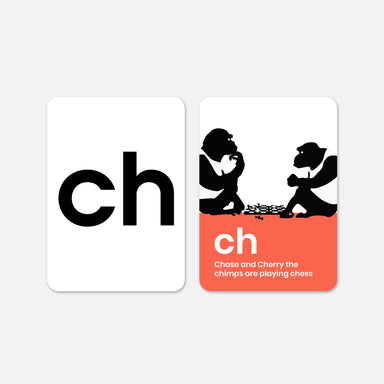 Happy Little Doers Alphabet Phonics Flash Cards on Design Life Kids