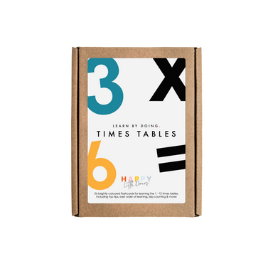 Happy Little Doers Math Flash Cards on Design Life Kids