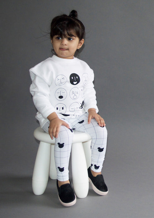 Fig & Honey EMOTICON JUMPER ON DLK