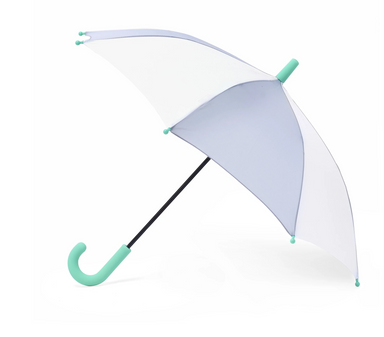Hipster Kid Grey Abstract Umbrella on Design Life Kids