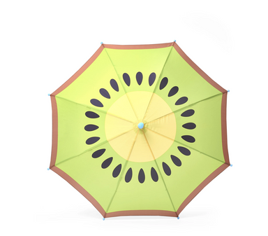 Hipster Kid Kiwi Umbrella on Design Life Kids