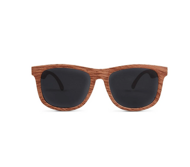 Wood Wayfarer Polarized Sunglasses