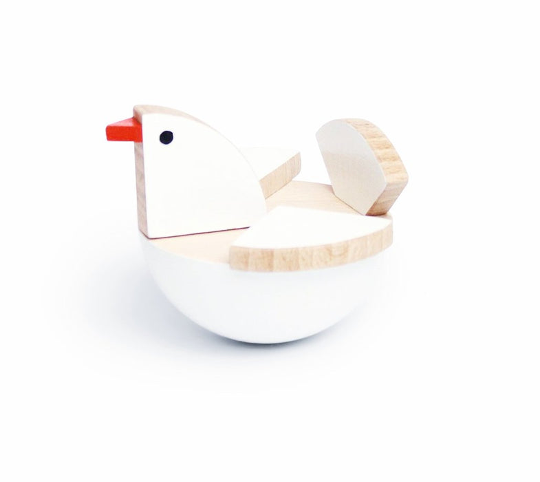 Kutulu Toys Holu White Dove Toy on DLK | designlifekids.com