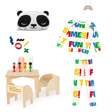 Hugo Loves Tiki Fun Times Shirt on Design Life Kids