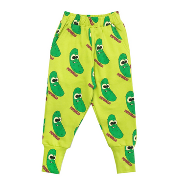 Hugo Loves Tiki Pickles Sweatpants on Design Life Kids