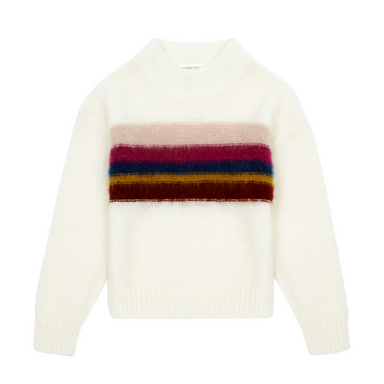 Hundred Pieces Rainbow Knit Sweater on Design Life Kids