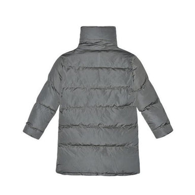 I Dig Denim  Dark Green Adults Puffer Jacket on Design Life Kids