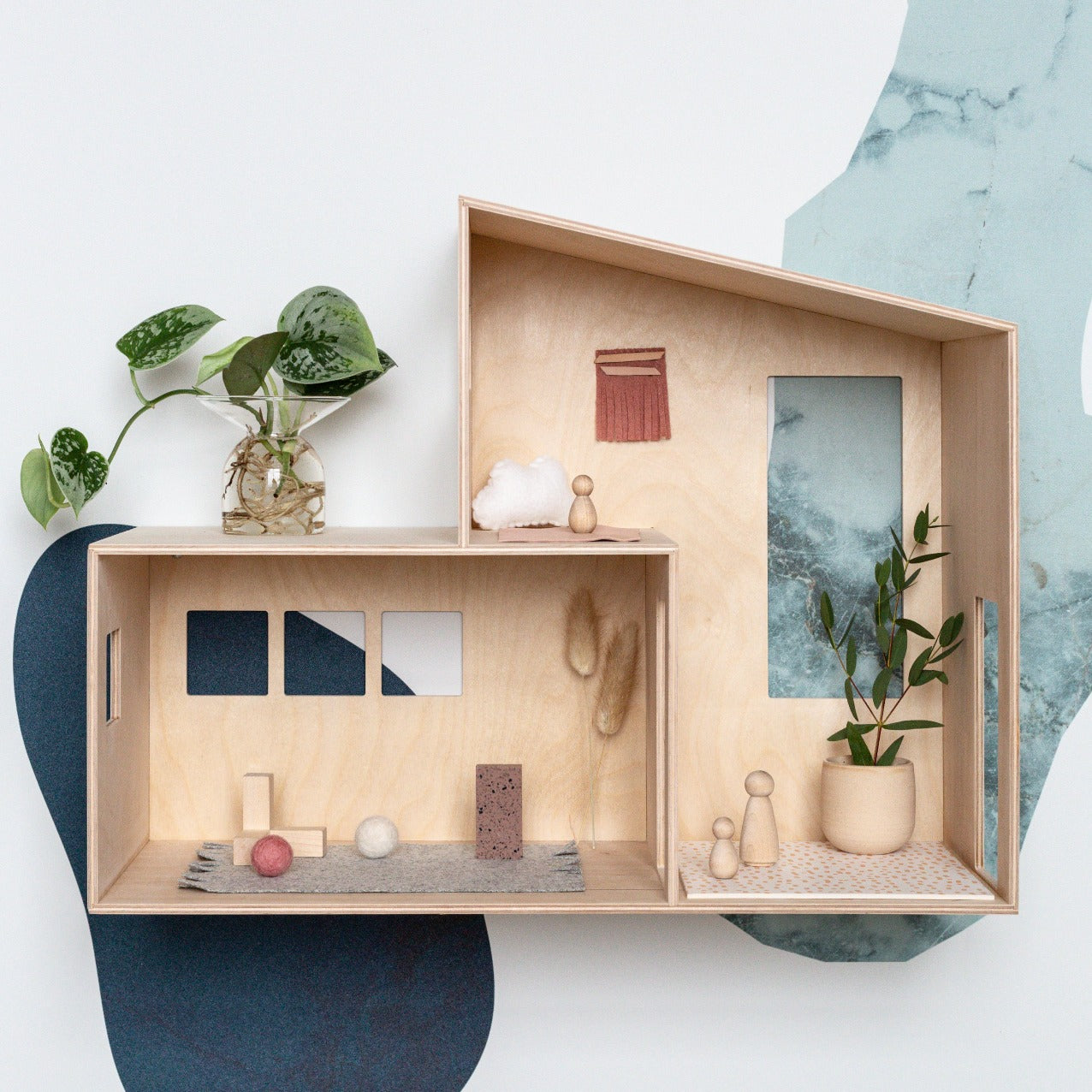 Ferm Living Small Miniature Funkis House on DLK | designlifekids.com