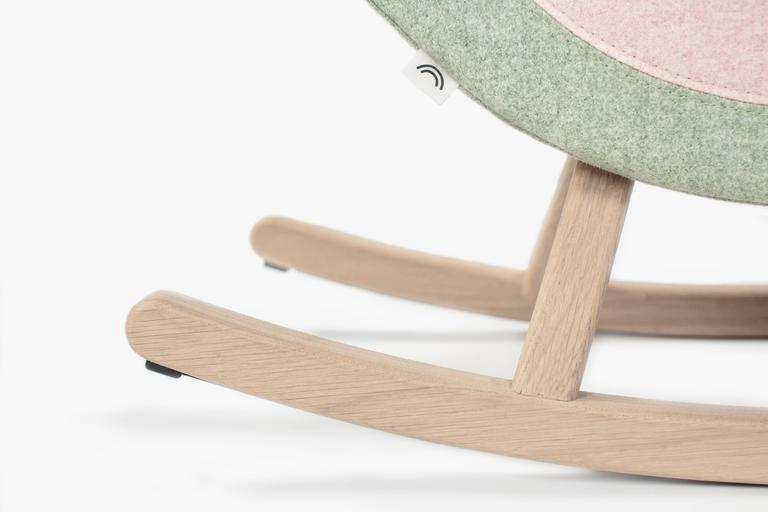 Maison Deux Iconic Watermelon Rocking Horse on DLK | designlifekids.com