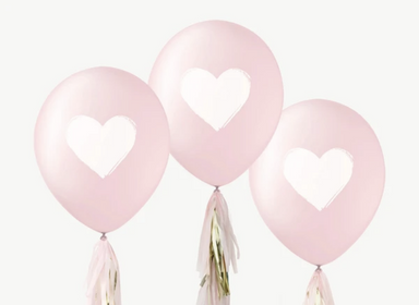 Inklings Paperie Biodegradable Heart Balloons on Design Life Kids