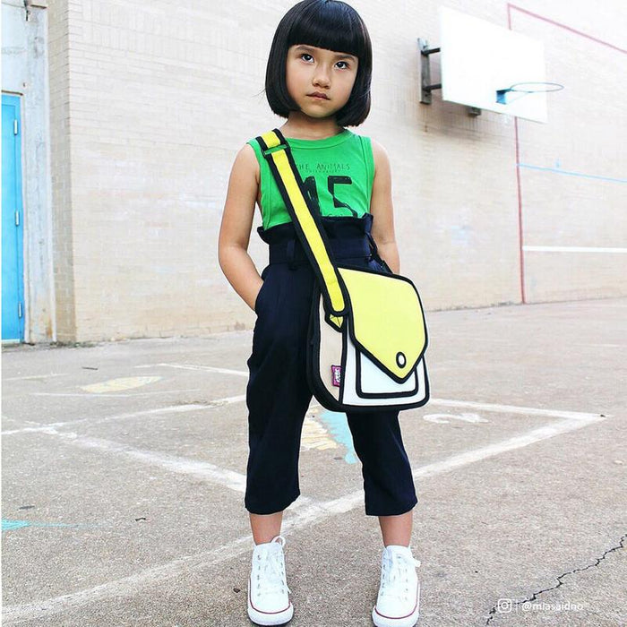 Jump from Paper Giggle Shoulder Bag on Design Life Kids