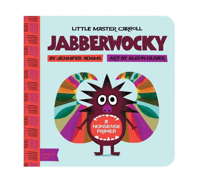 BabyLit Jabberwocky Board Book on DLK