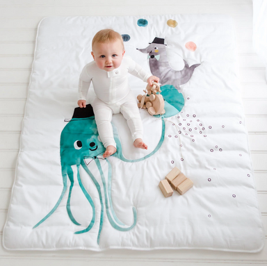 Rookie Humans Jellyfish Toddler Comforter on Design Life Kids