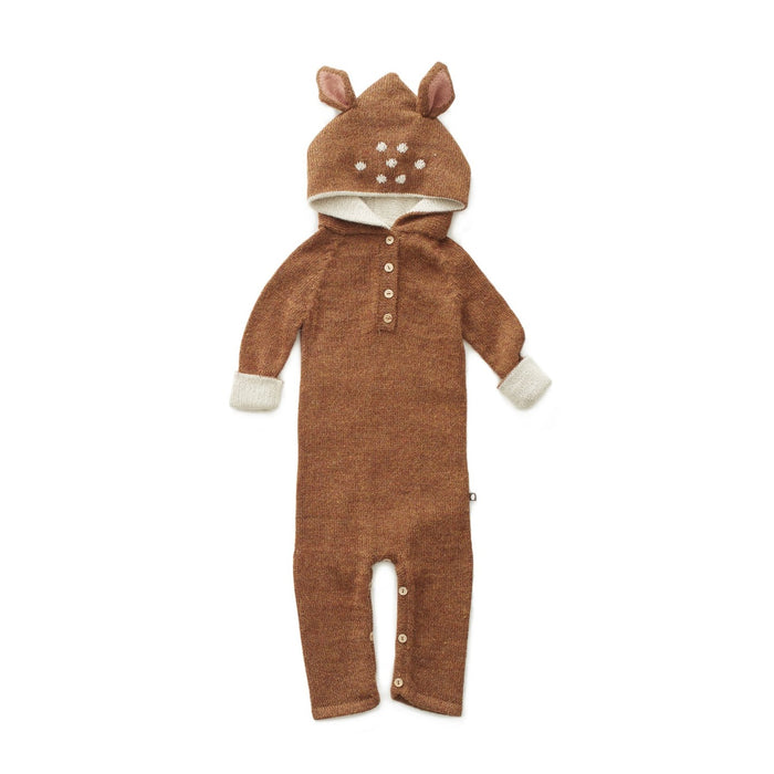 Oeuf Baby Bambi Deer Animal Hooded Jumpsuit Costume on Design Life Kids