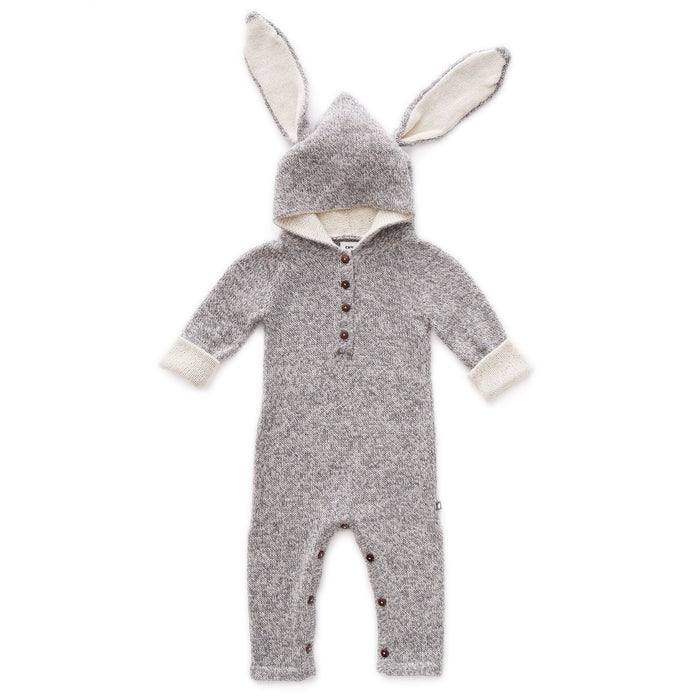 Oeuf Baby Bunny Rabbit Animal Hooded Jumpsuit Costume on Design Life Kids
