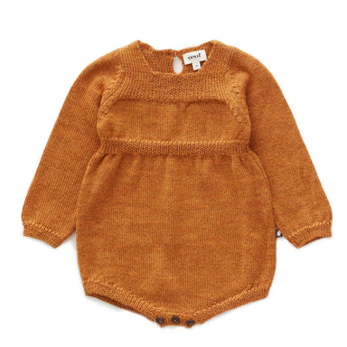 Oeuf Knit Romper on Design Life Kids