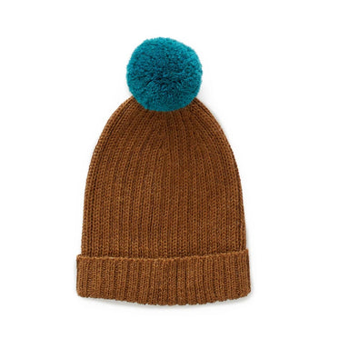Oeuf Knit Pom Pom Hat on Design Life Kids