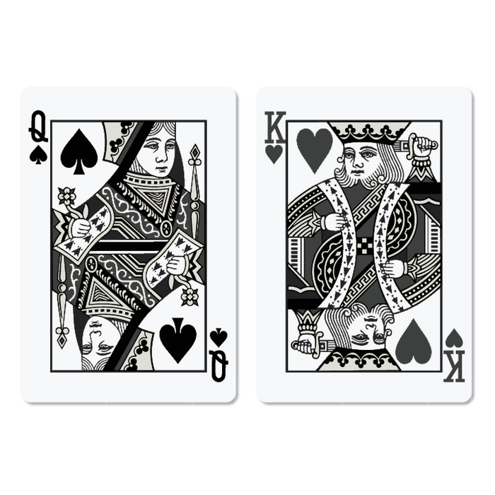 Petek Design Playing King and Queen of Hearts Card Poster Set at Design Life Kids