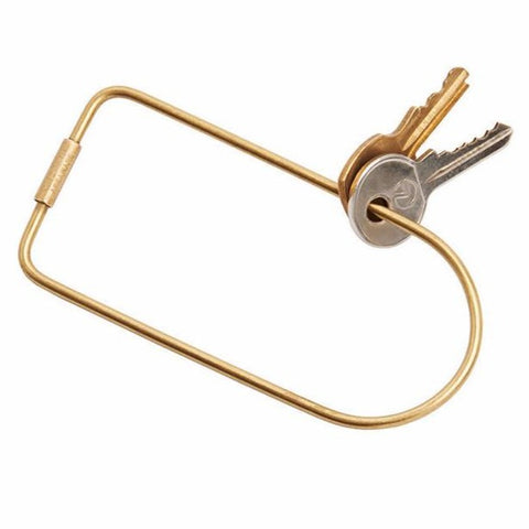 Areaware BEND KEY RING ON DLK