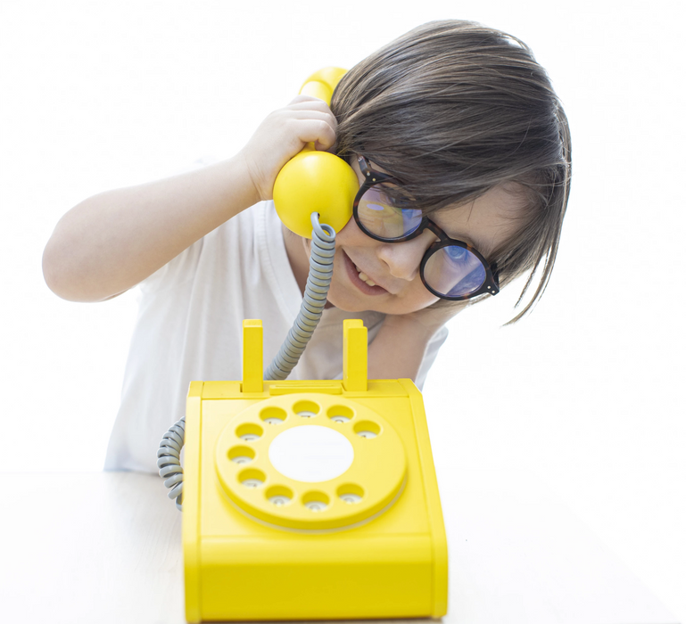 Kiko Wooden Toy Telephone on Design Life Kids