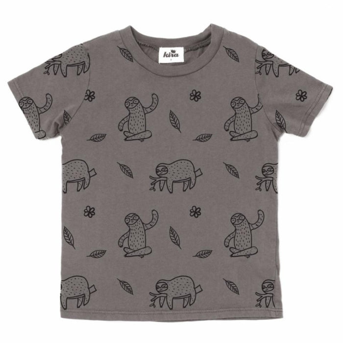 Kira Kids Sloth Tee on Design Life Kids