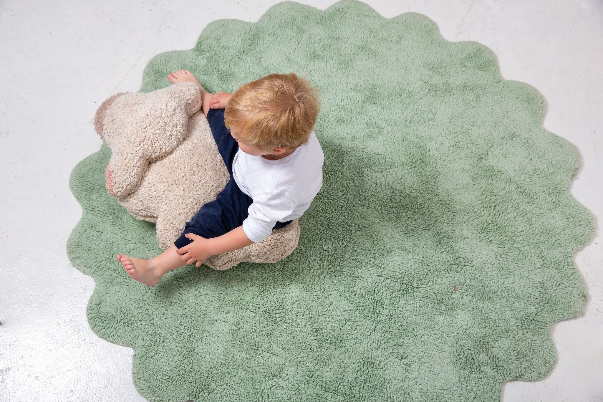 Lorena Canals Puffy Sheep Rug on DLK | designlifekids.com