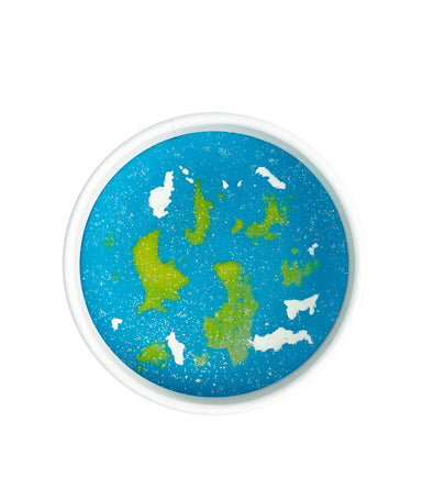 Land of Dough Planet Earth Natural Play Dough on Design Life Kids